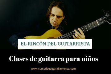 aprender a tocar la guitarra de niño