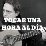TOCAR LA GUITARRA UNA HORA AL DÍA
