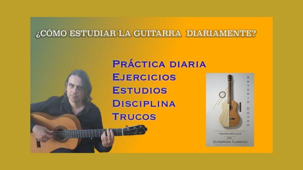 Cómo estudiar la guitarra